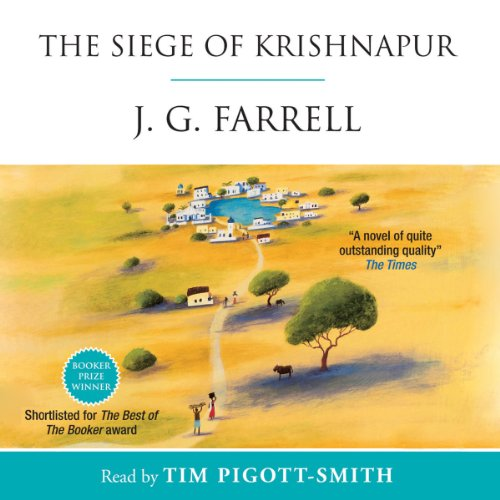 The Siege of Krishnapur audiobook cover art