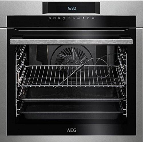 AEG BPE642120M Electric oven 71L A+ Acero inoxidable - Horno (Medio, Electric oven, 71 L, 71 L, 2900 W, 3 shelves)