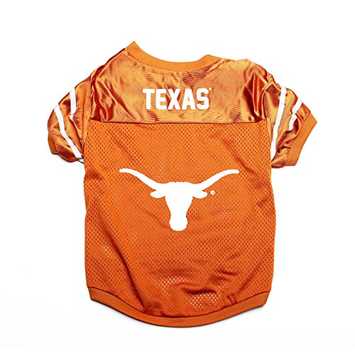 Pet Goods NCAA Texas Longhorns Collegiate Pet Jersey, Small