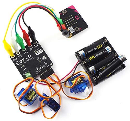 Monk Makes Servo Controller Kit for micro:bit