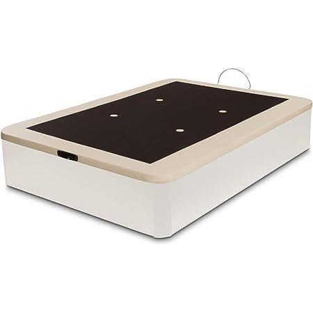 Canapé abatible Wood de Home Medida 90x190 cm Color Blanco ...