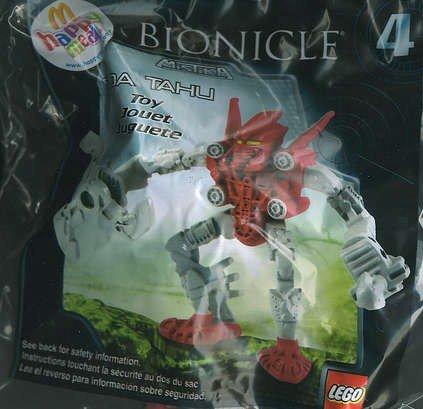 McDonalds Bionicle Mistika Toa Tahu Toy # 4 (2008)