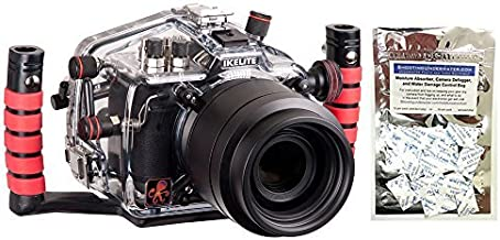 Ikelite Underwater Camera Housing Compatible with Canon 7D Mark II with Moisture Munchers