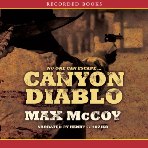 Canyon Diablo audiobook cover art