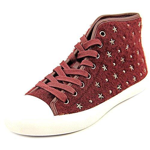 Coach Emerald Star Women US 9 Burgundy Fashion Sneakers