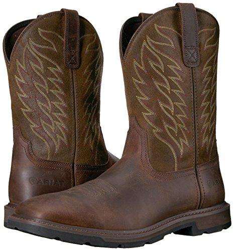 Ariat Men's Groundbreaker Boot, Brown, 7 D US
