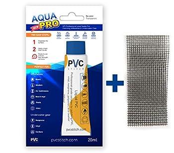 AquaPro Liquid Patch Waterproof Repair Kit for Vinyl Inflatable & Underwater Gear | Sealer +Cord |