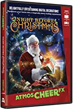 AtmosFX Night Before Christmas Digital Decorations DVD for Christmas Holiday Projection Decorating