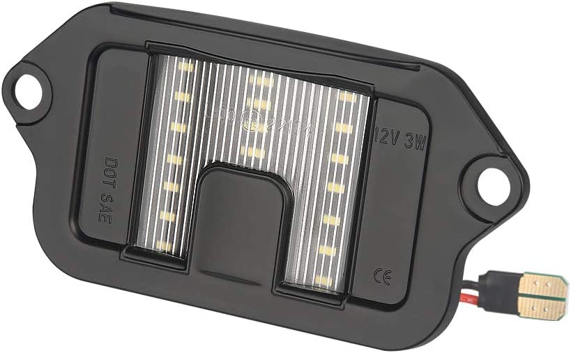 MbuyDIY LED License Plate Light with 20 Max 79% OFF Assembly Compatible Lamp Limited Special Price