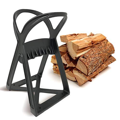 Kabin Kindle Quick Holzspalter - Manuelles Spaltwerkzeug - Stahlkeilspitze spaltet Brennholz einfach & sicher