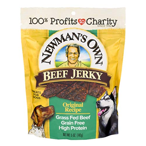 Newman's Own Jerky Treats for Dogs, 5-oz. (Pack of 6), Original Recipe