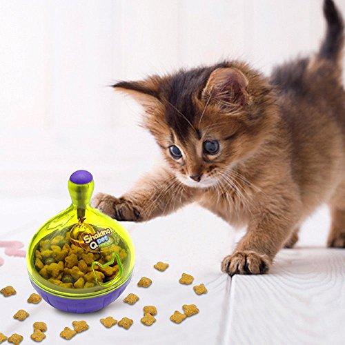 Brigamo  Katzenspielzeug Futternapf & Katzen Intelligenzspielzeug in einem