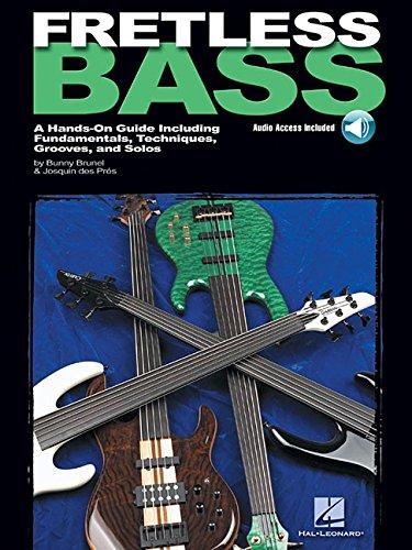 Fretless Bass Bk/Cd: Noten, CD für Bass-Gitarre (GUITARE BASSE)