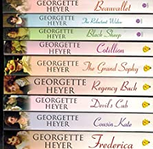Georgette Heyer 13 Book set - (Convenient Marriage, Grand Sophy, Frederica, Nonesuch, Corinthian, The Foundling, Devil's C...