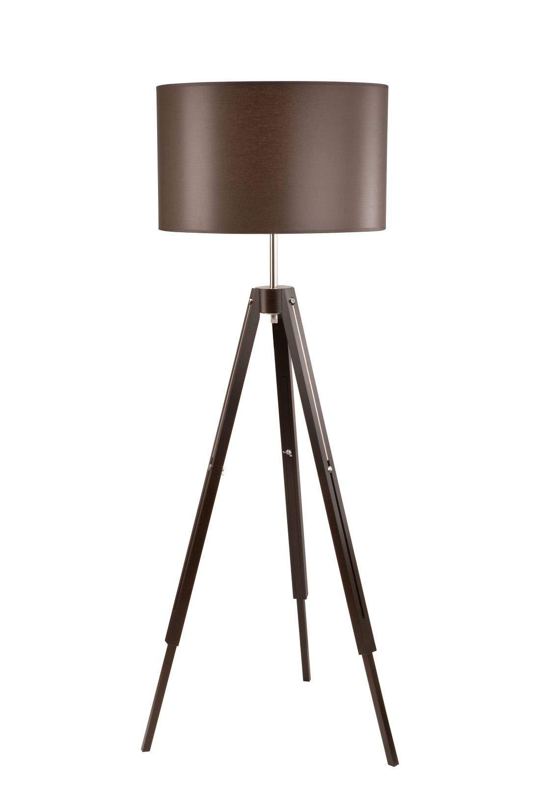 EGLO 49156 Lámpara de pie Braun Weiss 60 W