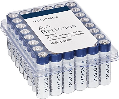 Insignia AA Batteries 48-Pack