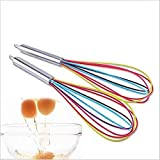 Image of Doyime Whisk Rainbow, Silicone, 25cm