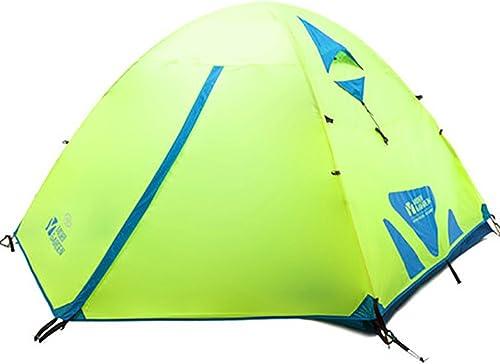 Tente Pop-up Extérieure Tente d'alpinisme Double Tente multifonctionnelle Coupe-Vent imperméable à l'eau Solaire imperméable à l'eau adaptée pour Les Sports de Plein air Tente de Camping