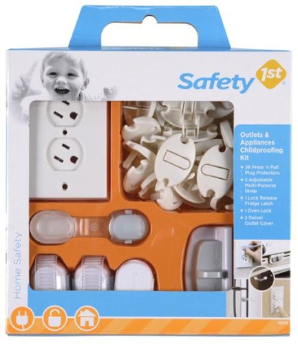 Safety 1st Outlets and Appliances Safety Kit - 42 Pieces