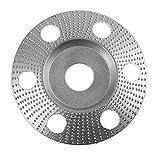 Xuqiang 110 mm 85 mm Rueda de molienda de la rueda de carbono Rueda abrasiva para el molinillo de ángulo Herramientas manuales de carpintería de bricolaje (Color : Red, Size : S)