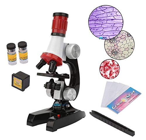 FunBlast Educational Microscope for Kids - Science Toys for Kids Learning Gadgets (Pack of 1) – Multicolor