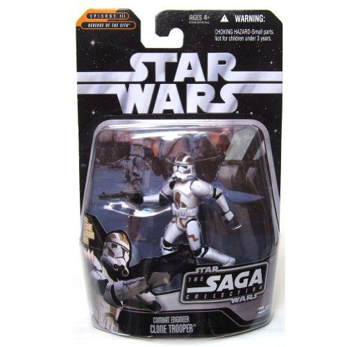Figura de acción de Star Wars Saga Collection #068 Combat Engineer Clone Trooper