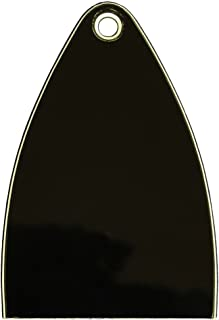 Truss Rod Cover for Import Paul Reed Smith PRS SE guitars, 1 pcs Blank black (ship from usa)