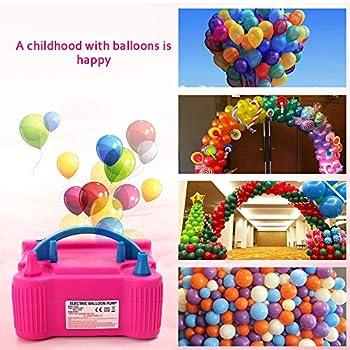 Mulcort Pompe à Ballon, Pompe à air électrique Ballon, pour baudruche pour Fête Mariage et Anniversaire