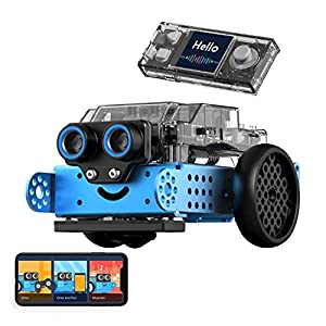 Makeblock mBot Neo Coding Robot for Kids, Scratch and Python Programming, Metal Building Robot Kit, WiFi, IoT, AI…