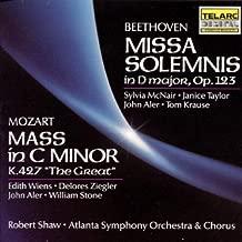 Beethoven: Missa Solemnis & Mozart: Great Mass In C Minor