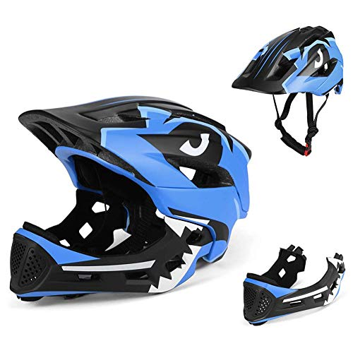 DYOYO Fahrrad Kinderhelm Integriert Integralhelm Schutzhelm Downhill Helm mit...