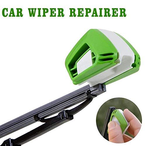 Herramienta de reparación de limpiaparabrisas, restaurador de limpiaparabrisas, reparación de limpiaparabrisas de tira de goma para parabrisas, recortador de limpiaparabrisas 2piezas