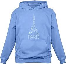 Tstars - Eiffel Tower Paris Bastille Day French Patriot Gift Women Hoodie