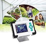 HUKOER Detector de CO2 0-9999PPM Monitor de dióxido de carbono, humedad relativa portátil medidor...