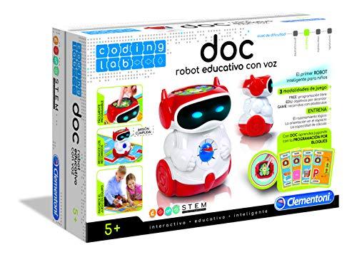 Clementoni Doc, el robot, color surtido, tablero montado 94 x 69 cm (55176.7)
