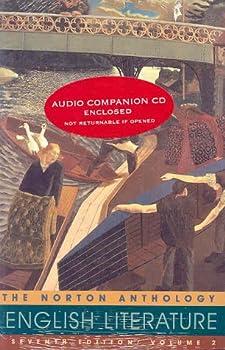 Paperback The Norton Anthology of English Literature Book