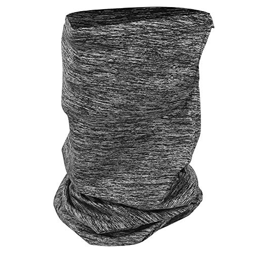 RiToEasysports Gesichtsschutz für den Außenbereich , Unisex Ice Silk Sonnenschutz Gesichtsschutz Quadrat Handtuch Staubdicht Winddicht für Radsport(grau-1)