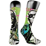 Joy Edward Biggie Smalls Calcetines para hombres y mujeres Hip-hop Athletic Sport Graphic Tube Calcetines