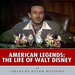 American Legends: The Life of Walt Disney audiobook cover art