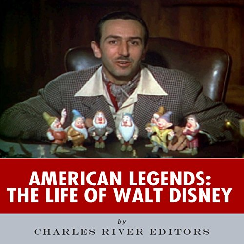 American Legends: The Life of Walt Disney audiobook cover art