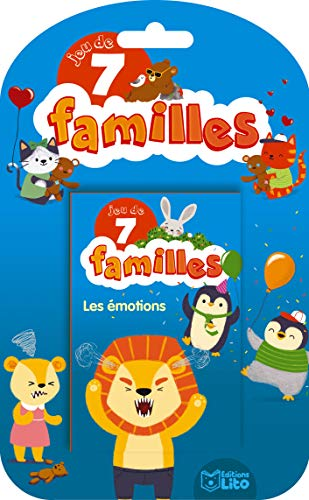 Jeux de 7 Familles : Les émotions - Dès 5 ans