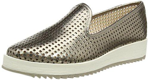 La Strada Damen Pewter loafer Espadrilles, Grau (1944-soft, 38 EU