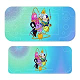 Interesting A-dventure Ti-me Stickers Decals Cover for Switch Lite Gaming Skin Compatible for Switch Controller,Durable Full Set Wrap Protective Faceplate Console