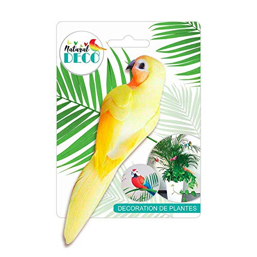 STC Déco Plantes – Medium Oiseau Jaune CD3828