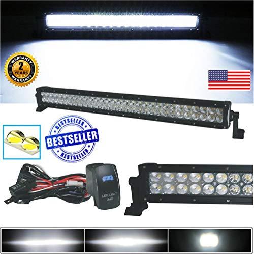 utv led light bar offroad 30 inch - 4
