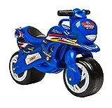 INJUSA - Moto Correpasillos Tundra Azul con Ruedas Anchas y Asa de Transporte Recomendado a Niños...