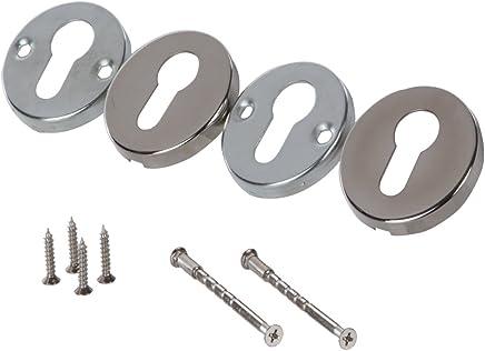 RENNICOCO Silikon-Hitzegriffhalter Hitzeschutzender Silikongriff Gusseisen-Bratpfannen mit Schl/üsselloch-Griff