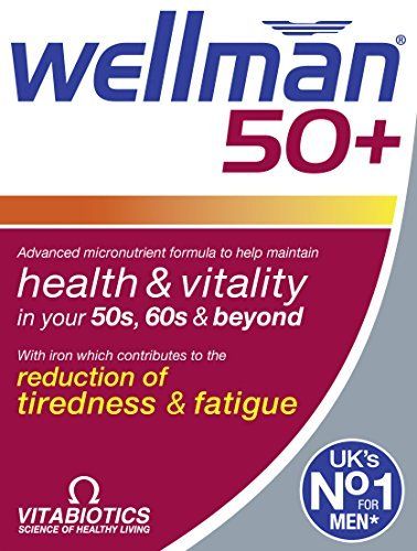 Vitabiotics Wellman 50+ Advanced micronutrients formula by Wellman