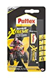 Pattex PRXG2 Repair nicht-schrumpfender Extreme, nicht-schrumpfender und flexibler Alleskleber, temperaturbeständiger Reparaturkleber, starker Kleber für innen und außen, 1x20g Tube