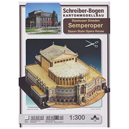 Aue Verlag 33 x 30 x 15 cm Semperoper Dresden Model Kit